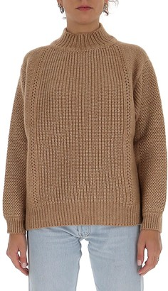 See by Chloe High-Neck Knit Sweater