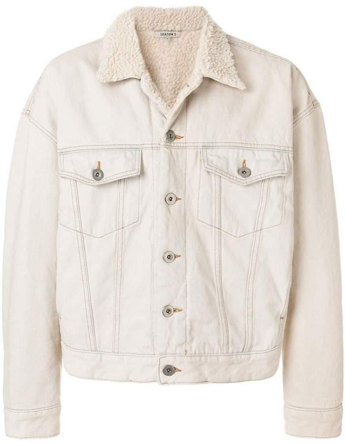 Yeezy faux-shearling lined jacket
