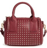 Sole Society Maddoxx Studded Faux Leather Satchel