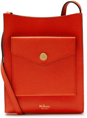 Mulberry Medium Leather Crossbody Phone Pouch