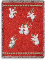Bed Bath & Beyond Holiday Frosty Friends Throw Blanket