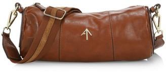 MANU Atelier Leather Cylinder Shoulder Bag