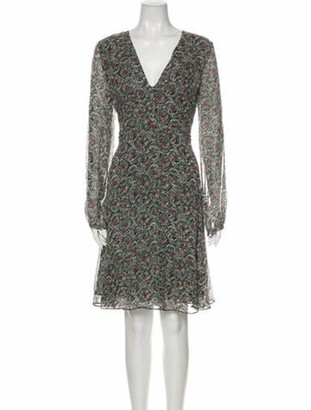 Derek Lam Silk Knee-Length Dress w/ Tags White