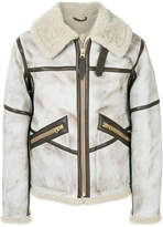 Schott shearling jacket