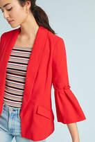 Greylin Sharmila Bell-Sleeved Blazer