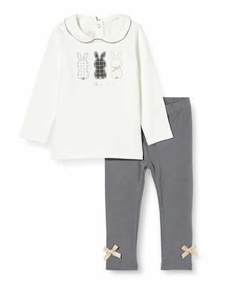 Chicco Baby Girls' Completino T-Shirt Manica Lunga + Leggings Suit-Dress Set