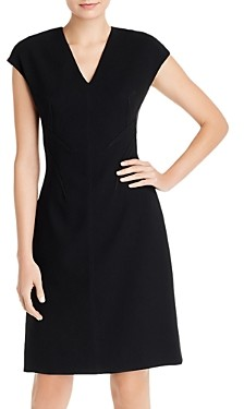Elie Tahari Fern V-Neck Dress
