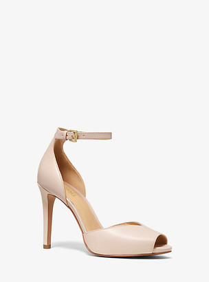 MICHAEL Michael Kors Cambria Leather Sandal
