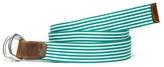 Tommy Hilfiger Stripe D-Ring Belt