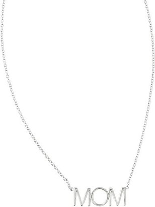 "Mark And Graham Maya Brenner Pendant Necklace, ""Mom"""