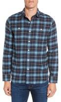 Grayers Men's Landon Trim Fit Plaid Flannel Sport Shirt