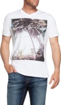 TAROCASH Cancun V-Neck Printed Tee
