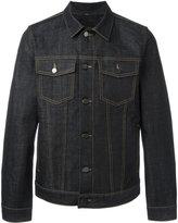Plac flap pockets denim jacket - men - Cotton/Polyurethane - 30