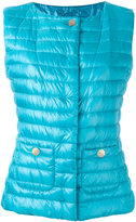 Herno padded gilet - women - Polyamide/Cotton/Acetate/Feather Down - 44