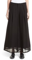 Noir Kei Ninomiya Women's Imitation Pearl Embellished Wide Leg Pants