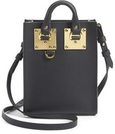 Sophie Hulme 'Nano Albion' Crossbody Bag - Black