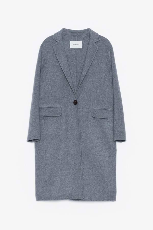 Genuine People Oversized Wool Coat