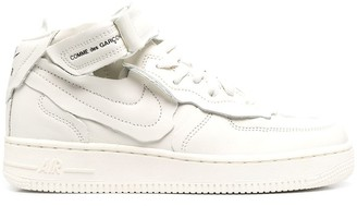 Nike x Force 1 mid-top trainers