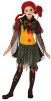 Asstd National Brand Girls Zombie Clown Costume