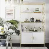 Everly Quinn Ariadne Standard Bookcase Quinn