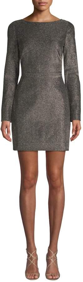 Diane von Furstenberg Women's Shimmering Mini Dress