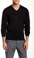 HUGO BOSS Veeh V-Neck Wool Blend Sweater