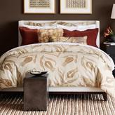 Floral Print Bedding, Tan