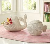 White Animal Shaped Baskets