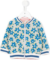 Stella McCartney floral bomber jacket - kids - Cotton - 6 mth