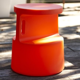 Offi Tote End Table Color: Red