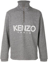 Kenzo logo zip up sweater