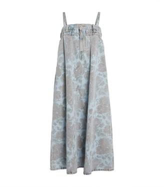 Ganni + Levi's Floral Denim Dress