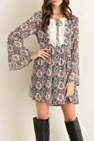 Entro Paisley Trend Dress