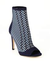 Gianvito Rossi Striped High Heel Ankle Boots