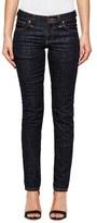 Nudie Jeans Women's Long John Skinny Jeans Twill Risned