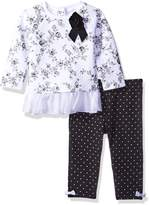 Little Me Girls' 2 Piece Legging Set