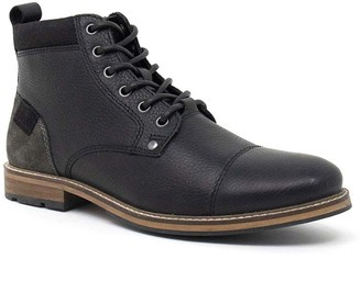 Crevo Neal Leather Lace-Up Boot