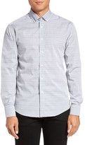 Vince Camuto Trim Fit Button Down Sport Shirt