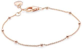 Katie Belle 18ct Rose Gold Vermeil Beaded Bracelet
