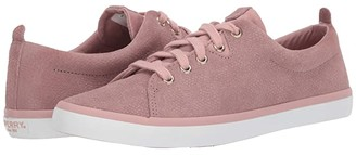 Sperry Sailor Lace To Toe Serpent Leather (Blush) Women's Shoes