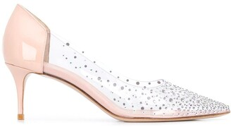 Le Silla Nicole crystal-embellished pumps