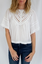Free People White Summer Top