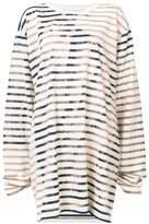 Faith Connexion striped sweatshirt dress