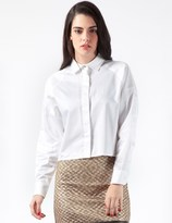 Opening Ceremony White Ergo Button Down Shirt