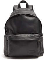 Eastpak Padded Pak'r® leather backpack