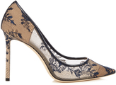 Jimmy Choo Romy 100mm lace pumps
