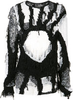 Ann Demeulemeester open knit jumper