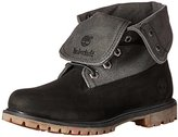 Timberland Women's Auth Leather-and-Canvas FD Boot