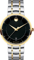 Movado 0606916 PVD gold-plated stainless steel watch