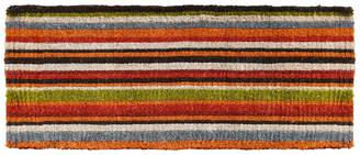 "Natural Coir Stripe 18"" x 46"" Coir Doormat Bedding"